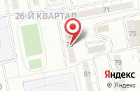 Схема проезда до компании Европромимпорт в Тольятти