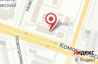 Схема проезда до компании Оникс в Тольятти
