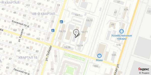 ТехВазКомплект. Схема проезда в Тольятти