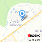 Лянгасово на карте Кирова