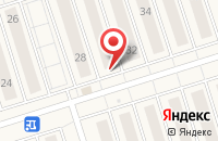 Схема проезда до компании Fusion в Новом Шигалеево