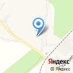 Северный лес на карте Кирова