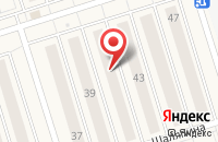 Схема проезда до компании Унистрой в Новом Шигалеево