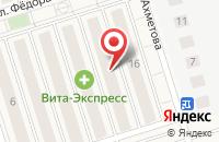 Схема проезда до компании Сервисный центр в Новом Шигалеево