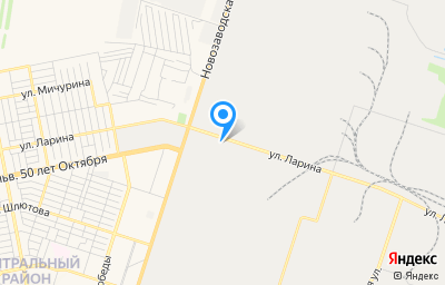 Местоположение на карте пункта техосмотра по адресу Самарская обл, г Тольятти, ул Ларина, д 145