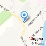 Восход на карте Кирова