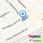 Клондайк на карте Кирова