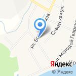 Егоза на карте Кирова