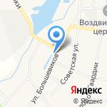 Магазин запчастей на карте Кирова