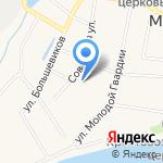 Малиновка на карте Кирова