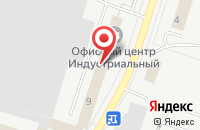 Схема проезда до компании Курсив в Тольятти