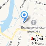Газпром теплоэнерго Киров на карте Кирова