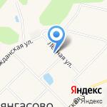 Красногорский на карте Кирова