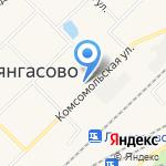 Средняя общеобразовательная школа №71 на карте Кирова