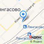 Лянгасовская детская школа искусств на карте Кирова