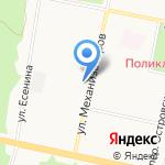 Академик на карте Тольятти