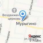 Средняя общеобразовательная школа на карте Кирова