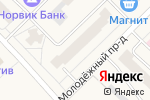 Схема проезда до компании Мебель в Кирове
