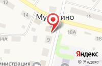 Схема проезда до компании Акашево в Мурыгино