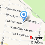 Зоренька на карте Кирова