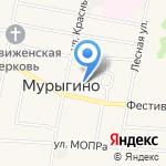 Дворик на карте Кирова