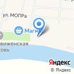 Мурыгинский спорткомплекс на карте Кирова