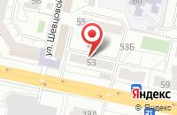 Схема проезда до компании Православное Слово в Тольятти