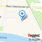 Стрелец на карте Кирова