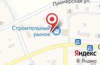 Схема проезда до компании Ярмарка строительных материалов в посёлке Садаковский