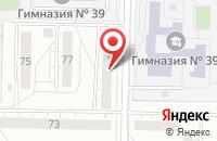 Схема проезда до компании Энергоформат в Тольятти