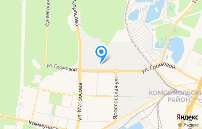 Местоположение на карте пункта техосмотра по адресу Самарская обл, г Тольятти, ул Громовой, влд 31