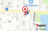 Схема проезда до компании Антошка в Жигулёвске