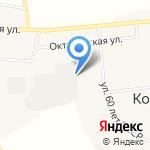 Шиноремонтная мастерская на карте Кирова
