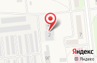 Схема проезда до компании Баня в Костино в посёлке Садаковский