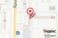 Схема проезда до компании Витакомпани в Тольятти
