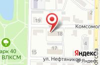 Схема проезда до компании Градостроительство в Жигулёвске