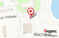 Схема проезда до компании Ключ здоровья в посёлке Садаковский