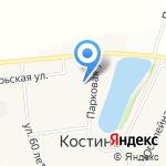 Вятка-Вэст на карте Кирова