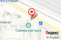 Схема проезда до компании Карапуз в Жигулёвске
