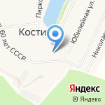 Средняя общеобразовательная школа №5 на карте Кирова