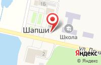 Схема проезда до компании Казанский купец в Шапшах