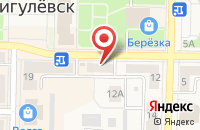Схема проезда до компании Городской Стратегический Совет в Жигулевске