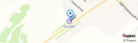 АЗС Лукойл на карте Старого Шигалеево