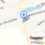 Молодежный на карте Кирова
