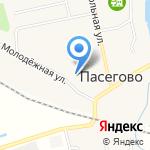 Колосок на карте Кирова