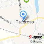 Участковый пункт полиции с. Пасегово на карте Кирова