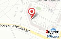 Схема проезда до компании Сайтэкс в Тольятти