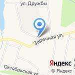 Пасегово на карте Кирова