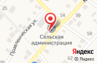 Схема проезда до компании Администрация сельского поселения Васильевка в Васильевке