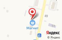 Схема проезда до компании Магнит в Сосновом Солонце